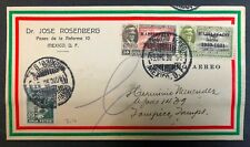 Mexico 1930 Airmail Cover