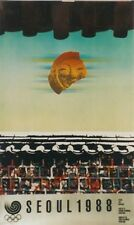 Original Plakat - Olympische Spiele Seoul 1988