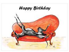 Erwachsener Geburtstag Kartenmit Tiere Motiv