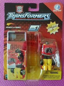Transformers Robots in Disguise R.I.D. Tiny Tins Spy Changers W.A.R.S. WORLDWIDE