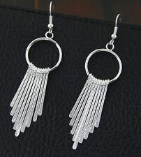 Stile egiziano 7cm Lampadario color argento Orecchini Dangle
