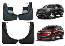 For 2011-2018 Jeep Grand Cherokee DELUXE MOLDED SPLASH GUARDS / MUD FLAPS 4PC