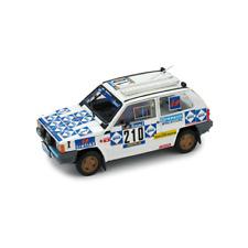Fiat PANDA 4x4 N.210 Abandon P.dakar1984 Baghetti-badois 1 43 Brumm Auto Rally