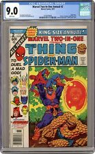 Marvel Two-in-One Annual #2 CGC 9.0 1977 3735079006