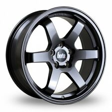 "Bola B1 18"" Alloy Wheels Gloss Gunmetal 5x108, 5x110, 5x112, 5x114 5x120"