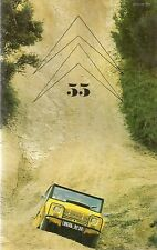 LE DOUBLE CHEVRON 55 1979 CITROEN MEHARI 4X4 VISA CARTE NOIRE CX PRESTIGE BLINDE