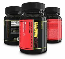 Yohimbine Hci Dietary Supplement - For Improved Metabolism & Fat Loss (60Pc)