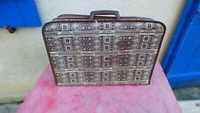 valise air afrique vintage aviation toile  45 cm de long
