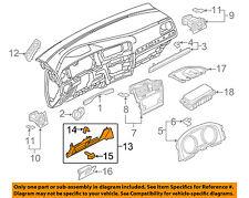 VW VOLKSWAGEN OEM 15-16 Golf Instrument Panel Dash-Lower Trim 5GM858365B82V