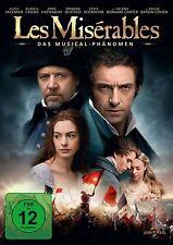 Les Miserables - Hugh Jackman - Russell Crowe - DVD - OVP - NEU