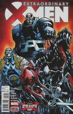 Extraordinary X-Men Comic Issue 12 Modern Age First Print 2016 Jeff Lemire Ramos