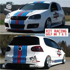 KIT MARTINI RACING - GOLF MK 5 6 7 GTI sticker autocollant VOLKSWAGEN POLYMERE
