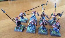 Miniaturas Caos de Warhammer GW beastmen minotauros Pro Pintado Lote de 8 raro Fuera de imprenta