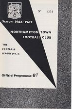 NORTHAMPTON TOWN v ROTHERHAM UNITED ~ 27 AUGUST 1966