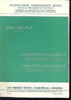 Joh. Chr. Pez - CONCERTO PASTORALE ~ Partitur