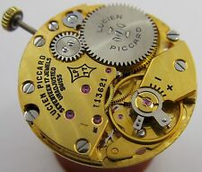 Lucien Piccard 77 base Peseux 7020 17 j. watch movement for parts ...