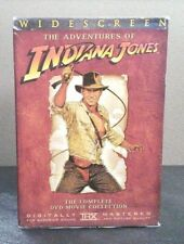 Indiana Jones - The Adventure Collection ( 4 DVD Set) W/Slipcover   LIKE NEW