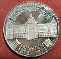 Austria 50 Shilling 1972 100 Aniversario Instituto Agricultura @ PROOF @