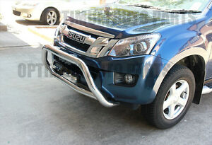 Isuzu D-MAX Dmax Stainless Steel Nudge Bar Grille Guard 2012-2020