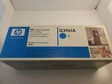 Q3961A 122A Genuine HP Cyan Toner Color LaserJet 2500L 2550LN 2550 2800 2820 ^