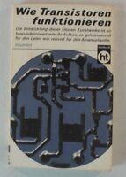Wie Transitoren funktionieren Entwicklung Kunstwerke Illustriert Buch 1970 B8257
