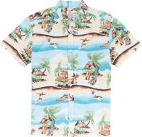 Kahala Hawaiian Print Shirt Fit | Cool Swell Kai 100% Cotton