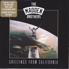 The Madden Brothers – Greetings From California CD NEW 2014 Good Charlotte