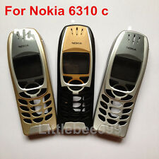 Good quality For Nokia 6310 housing front cover middle frame,black,silver,gold