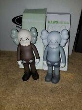 Kaws companion Lot of 2, Brown and Gray.