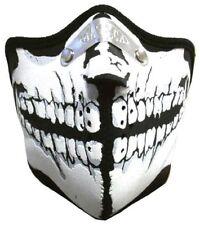 BIKER MASKE - Motorrad Face Mask Maske Sturmhaube Gesichtsschutz SKULL FACE