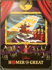 The Simpsons Homer The Great Art Tv Show Print Poster Mondo Matthew Florey Bart