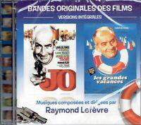 CD - JO & LES GRANDES VACANCES  - B.O des films