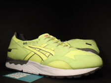 ASICS GEL-LYTE V 5 UBIQ HAZARD GORE-TEX LIME VOLT GREEN WHITE GREY BLACK DS 12.5