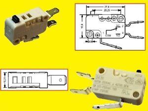 Cherry Micro Schalter Microswitch Mikroschalter D43X Wechsler 6A 250VAC 1x