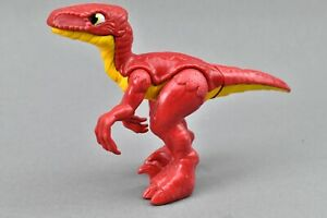Imaginext Jurassic Red Raptor Dinosaur Figure Toy Fisher-Price