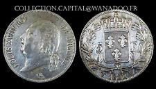 5 Francs Louis XVIII. 1822W. (Lille). Argent. COTE TTB:120/ SUP 300.