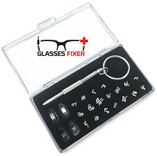GlassesFixer The Ultimate Deluxe Sunglasses and Glasses Frame Repair Tool Kit