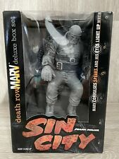 McFarlane Toys Sin City Death Row Marv Deluxe Box Set Figure Never Used Box Open