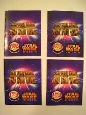 "STAR WARS EPISODE III ""Find YODA and win"" Game Pieces lot of 4 (MINT UNUSED)"