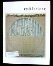 1975 CRAFT HORIZONS Faenza Clay '74 METALSMITHING USA American Frontier FIBER +