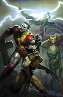 X-MEN 10 RYAN BROWN ZOMBIE VIRGIN