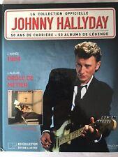 Johnny Hallyday La collection officielle Livre CD Drôle de métier