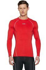 Under Armour HG T-shirt manches longues de Compression Homme Red/steel FR XL (