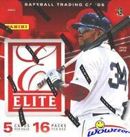 2015 Panini Elite Baseball Factory Sealed HOBBY Box-4 AUTOGRAPH/MEMORABILIA