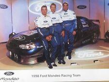 Ford Mondeo Racing Team  BTCC 1998  Promo Card   Hoy/Baird/Mansell