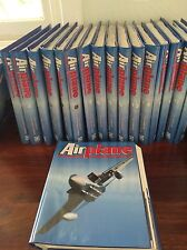 AIRPLANE MAGAZINE SET THE COMPLETE AVIATION ENCYCLOPEDIA 18 binders x12=200+mags