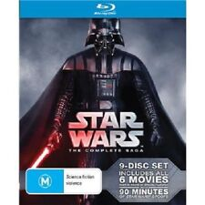 Star Wars The Complete Saga Blu-ray BRAND NEW Region B
