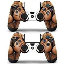 2 Packs PS4 Controller Dualshock Vinyl Decal Stickers Cover Sexy Hot Lady Girls