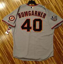 2010 Authentic Madison Bumgarner San Francisco Giants World Series Jersey 54