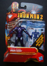 IRON MAN 2 Arctic Armor action figure (Comic Series, HTF!)